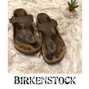 Birkenstock Gizeh Mocha Brown 36 GUC